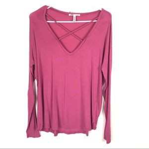 PINK Small Super Soft Long Sleeve Shirt Casual